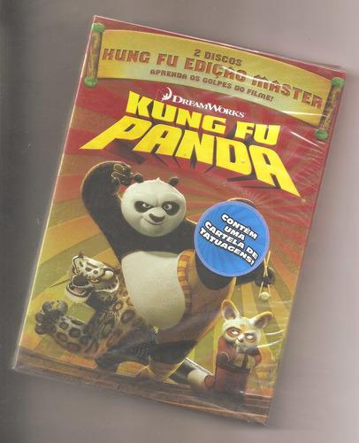 kung fu panda dvd duplo lacrado