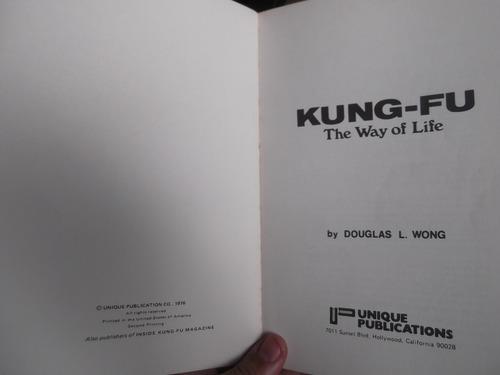 kung fu the way of life sifu douglas l wong en ingles ilustr