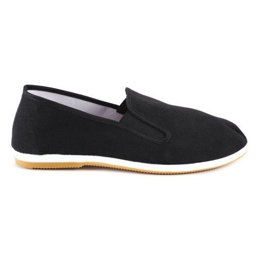 Zapatos Kung FU de Algodón con Suela Goma Tai Chi Negro Negro Size: 40 pFZNTq3a