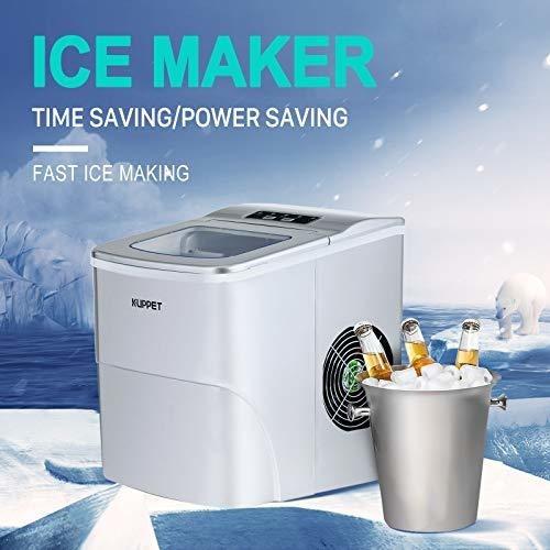 kuppet maquina para hacer hielo portatil automatica