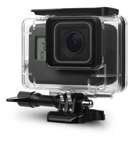 kupton housing case for gopro hero 7 hero 6 hero 5 black/ he