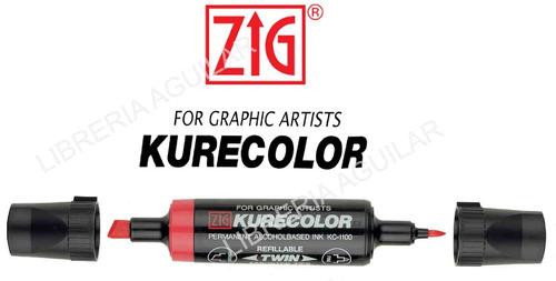 kurecolor marcadores profesionales uso artístico y diseño