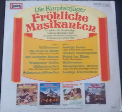 kurpfalzjager -frohliche musikanten