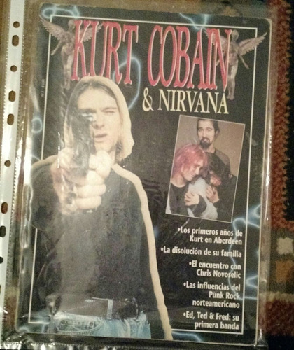 kurt cobain y nirvana colección