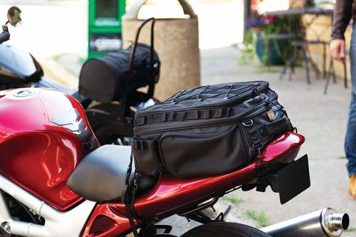 kuryakyn 5214 - equipaje para motocicleta, color negro