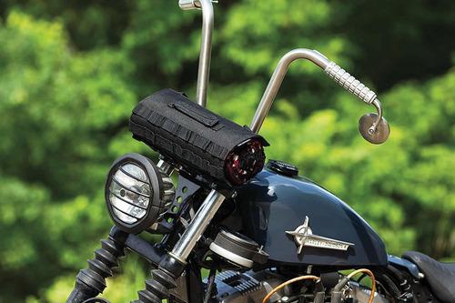 kuryakyn 5224 - equipaje para motocicleta, color negro