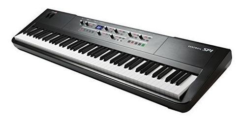 kurzweil sp1 88key piano de cola negro sp1lb