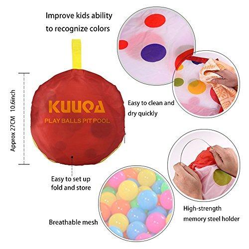 Kuuqa bolsa de piscina de bolas para ni os peque 36 for Piscinas de bolas para bebes