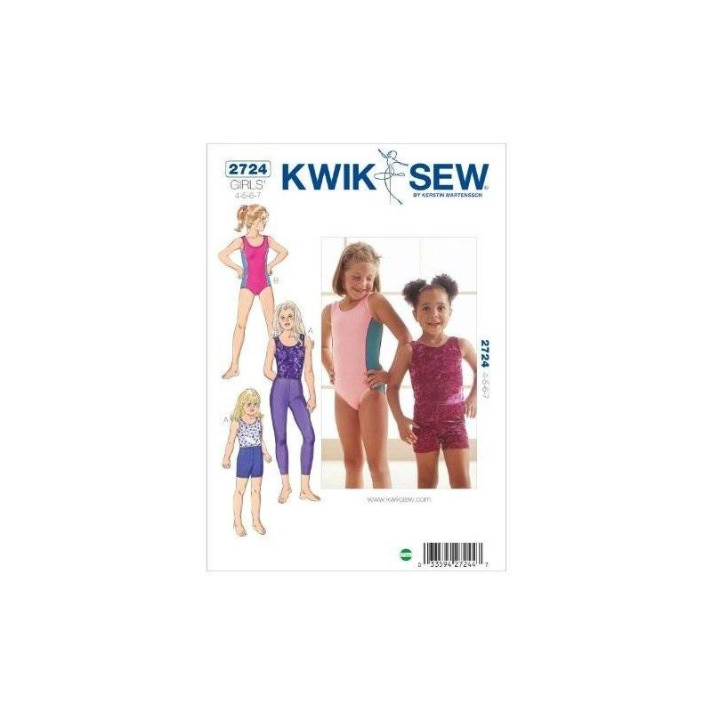 Kwik Sew K2724 Leotardos Patrón De Costura, Leotardos Y Pant ...