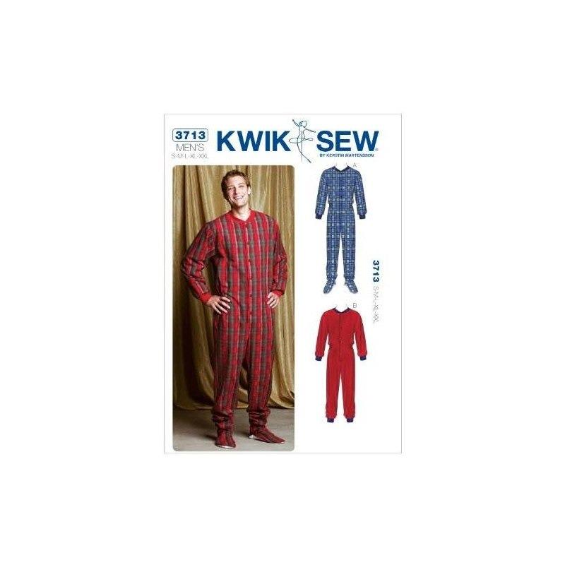 Kwik Sew K3713 Patrón De Costura De Pijama, Talla S-m-l-xl-x ...