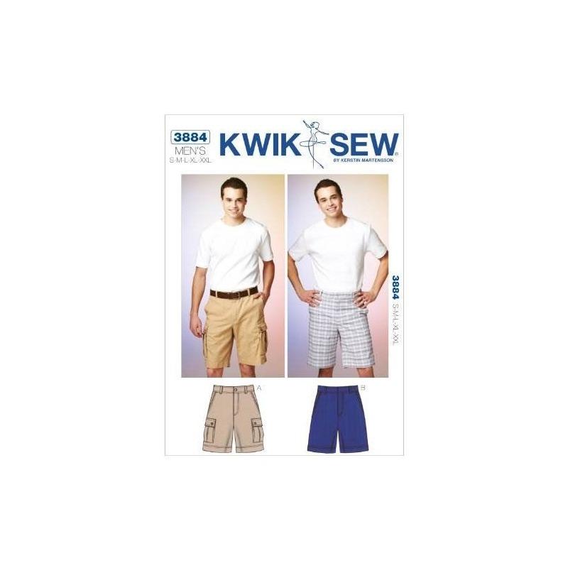 Kwik Sew K3884 Shorts Patrón De Costura, Talla S-m-l-xl-xxl ...