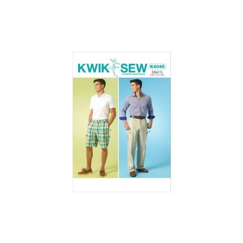 Kwik-sew Patterns K4045 Pantalones Cortos Y Pantalones Para ...