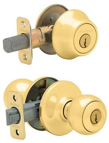 kwikset 690 polo entry knob y solo cilindro deadbolt combo p