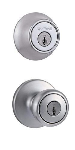 kwikset 690 tylo entry knob y solo cilindro deadbolt combo 1