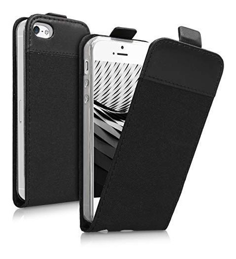 d64402e1748 Kwmobile Funda Con Tapa Vertical Para Apple iPhone Se / 5 ...