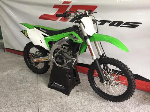 kx 450 2017 verde oficial com di com acessorio ponteira fmf