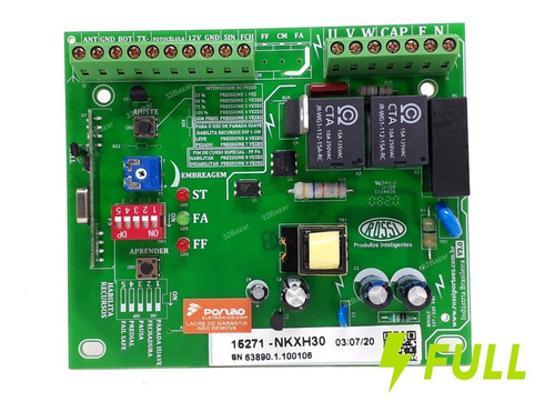 kxh30 placa central  dz3 dz4 dz nano portão eletronico rossi