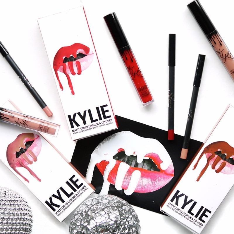 Kylie Jenner Logo Lips Google Search: Kylie 8 Set Labiales Matte Lapiz + Labial+envio Gratis