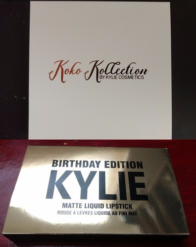 kylie birthday edition set + koko kollection set