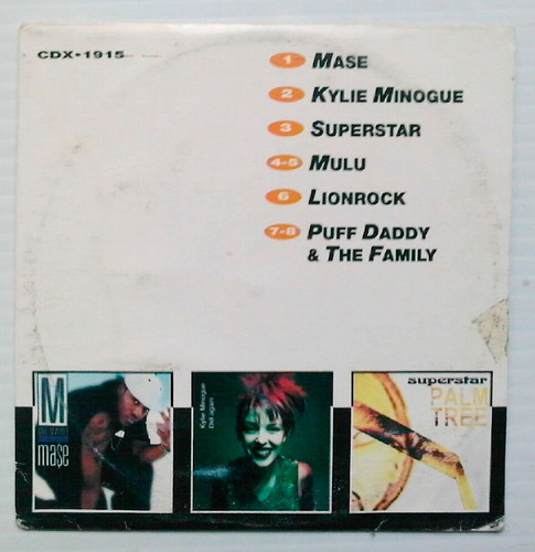 kylie minogue cd bmg sampler mexicano, raro 1997