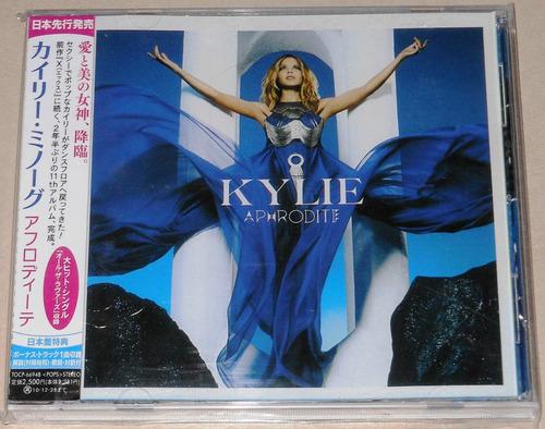 kylie minogue cd ed. japan aphrodite (+bonus track excl.)