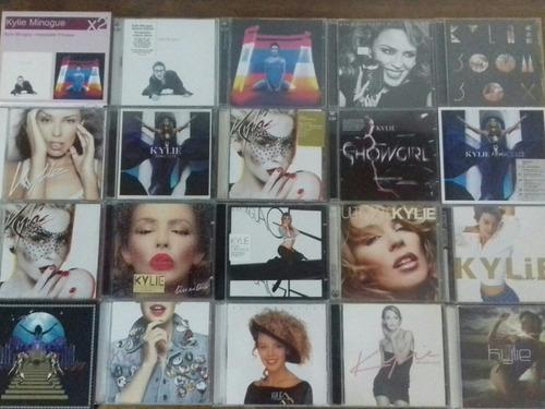 kylie minogue cd y dvd varios colección