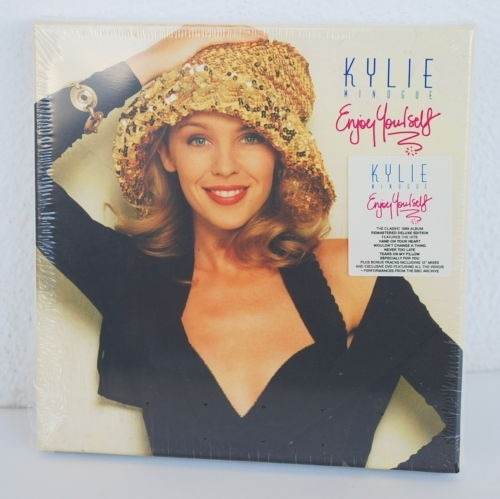 kylie minogue enjoy yourself deluxe 2cd+dvd edition box set