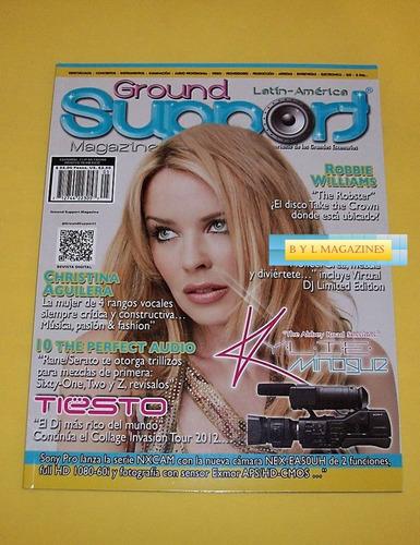 kylie minogue revista ground support 2012