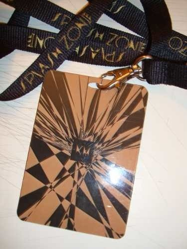 kylie minogue splash lanyard london aphrodite les folies '11