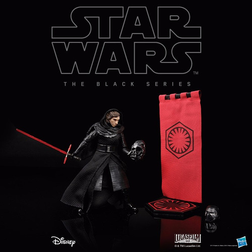 kylo ren exclusivo de la sdcc 2016 black series 6