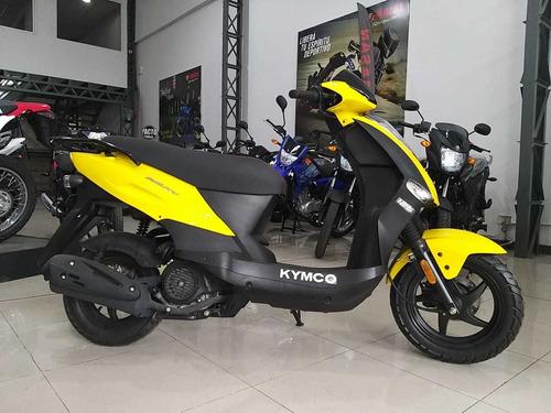 kymco agility 125 2018 0km crédito personal dni 100%