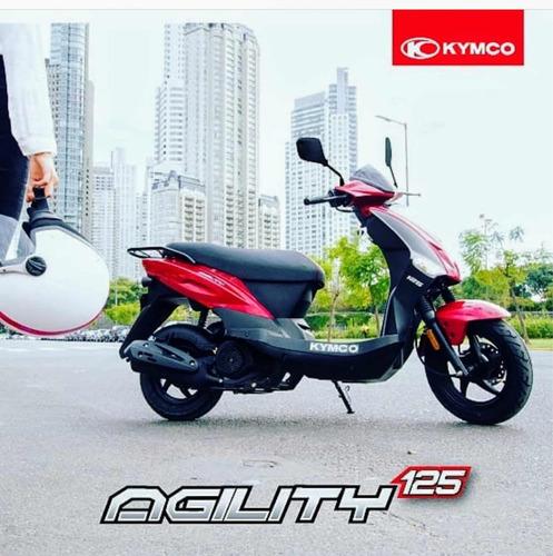 kymco agility 125 - financiacion- masera motos