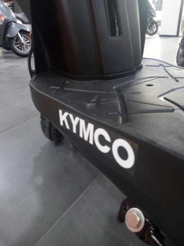 kymco agility 125  - lidermoto  san justo 12 cuot. s/interés