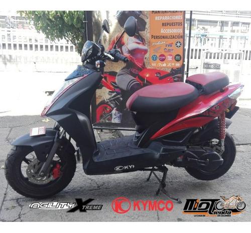 kymco agility 125 modelo 2010 moto automatica