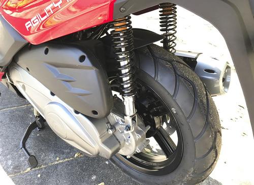 kymco agility 200i 16+ 0km scooter no suzuki burgman