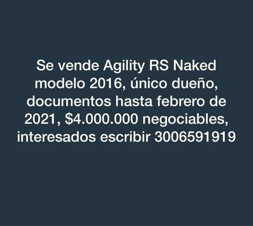 kymco agility rs naked 125