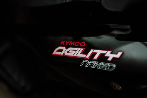 kymco agility rs naked 125 - giavitto motos