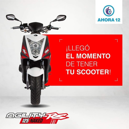 kymco agility rs125 naked /ahora 12.
