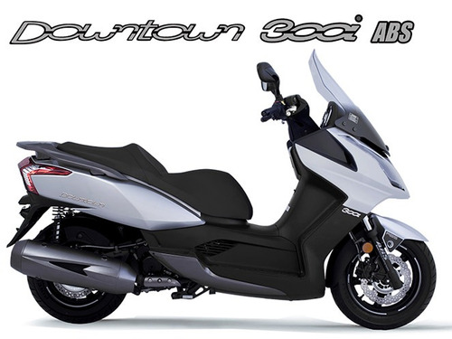 kymco downtown 300i 2018/2019 0 km prata