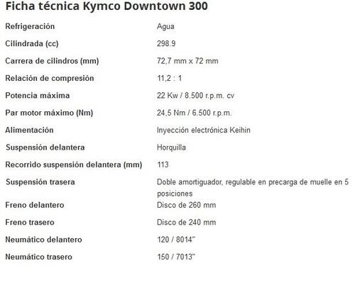 kymco downtown 300i automoto sur