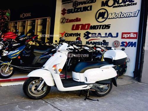 kymco like 125 0 km cub uno motos imperdible