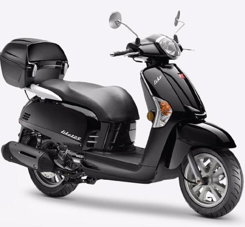 kymco like 125 -  0km scooters  - lidermoto
