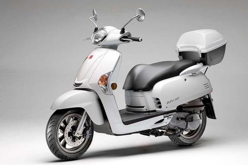 kymco like 125  12 cuotas de $9089 oeste motos scooter