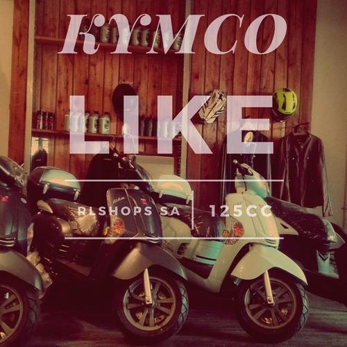 kymco like 125 $15000 y cuotas - rlshops