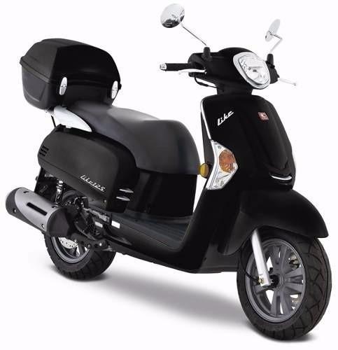 kymco like 125 2017 linea nueva retro urbana scooter disco