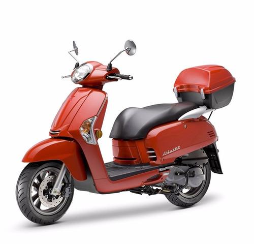 kymco like 125 2020 linea nueva retro urbana scooter disco