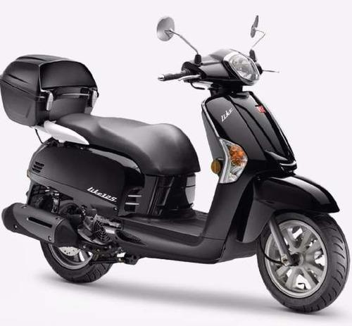 kymco like 125 scooter no honda agility  yamaha vespa prueba