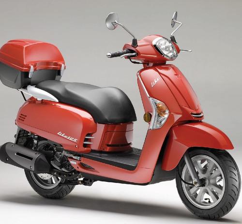 kymco like 125 scooters