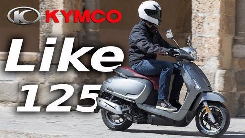 kymco like 125cc    lomas