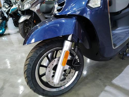 kymco like 150/ blanca /abs / sauma motos